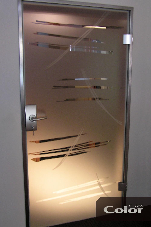 Стъклени врати