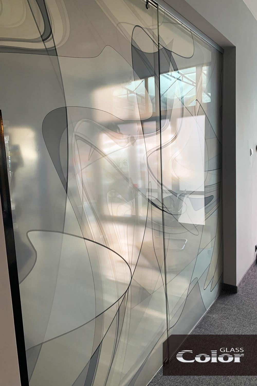 Принт стъкло в интериора